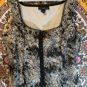 90's corset style lace top for you retro girls!